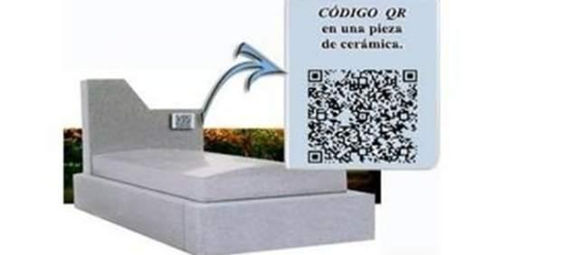 Una funeraria 'online' ofrece códigos QR en las lápidas para recordar a los seres queridos
