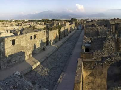 Restos de Pompeya