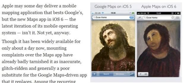 """Apple pide paciencia a los usuarios tras su sustitución """"fiasco"""" de Google Maps"""