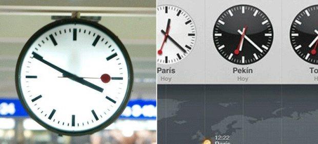 Reloj suizo y el de Apple