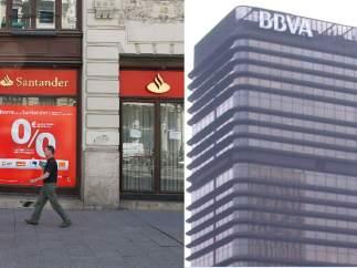 Banco Santander y BBVA