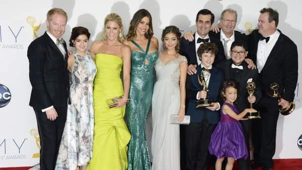 El equipo de 'Modern Family'