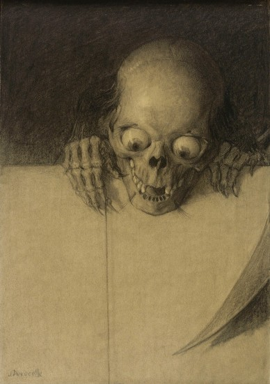 Skull with Protruding Eyes, ca. 1904
