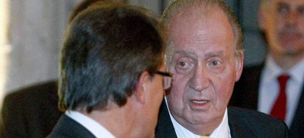 El Rey durante la entrega del Premio Conde de Barcelona