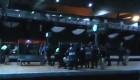 La policía carga en Atocha durante el 25-S