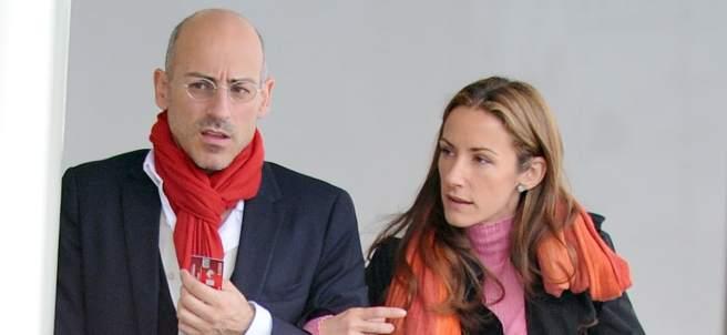 Telma Ortiz y Jaime de Burgo