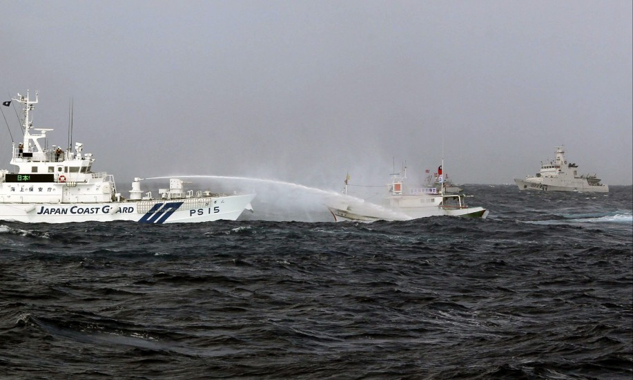 Taiwán entra en la lucha por las islas Senkaku