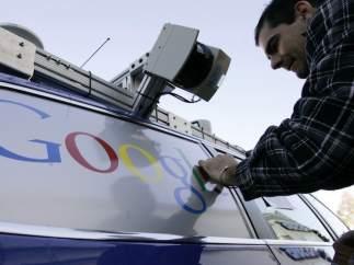 Coche de Google con piloto autom�tico