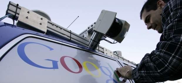 Coche de <stro />Google</strong>® con piloto automático&#8221; /></p> <p>Los vehículos sin conductor humano de <a target=