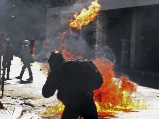 Cócteles molotov