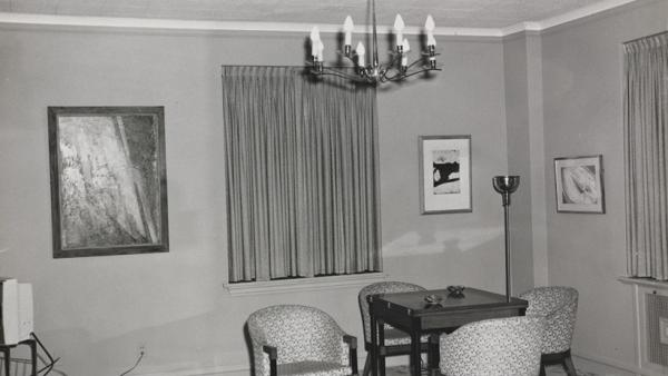 'Living Area. Suite 850 - Hotel Texas'
