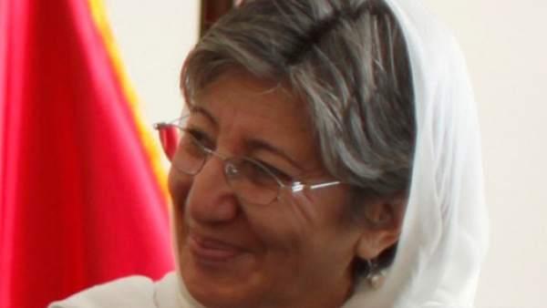Simar Samar, una de las ganadoras del 'Nobel Alternativo 2012'