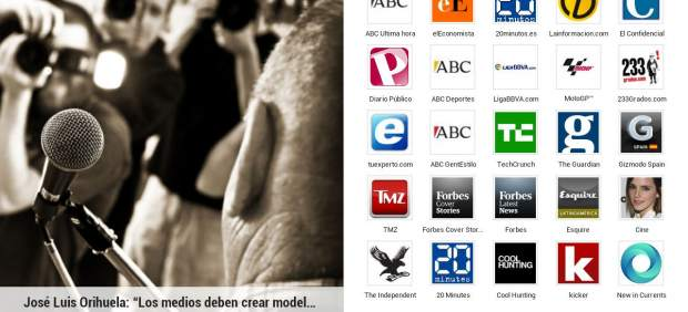 La 'app' de información Google Currents ya está disponible con contenidos en español