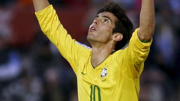 Kaka con Brasil
