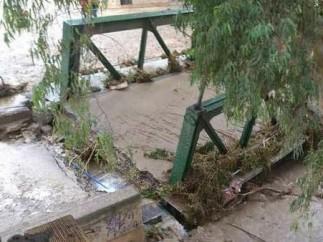 Puente de lata de Álora