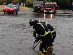 Inundación en Alcorcón