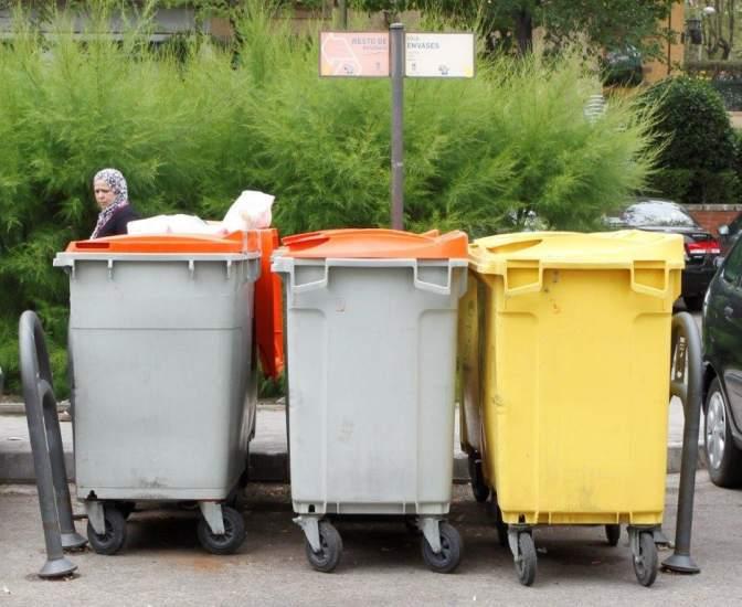 Contenedores basura madrid