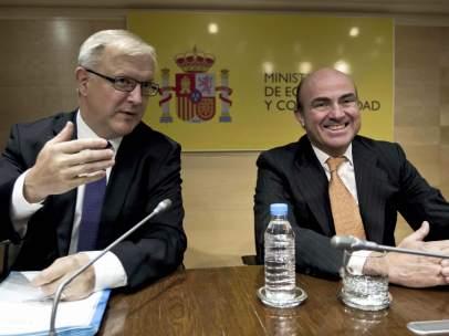 Rehn y De Guindos