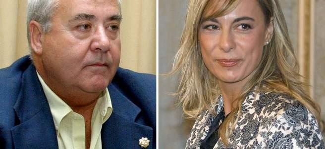 Sonia Castedo y Luis Díaz Alperi