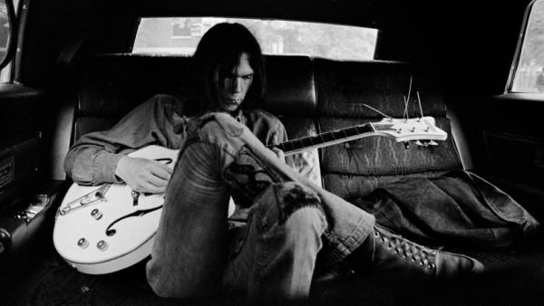 En limusina, Nueva York, 1970