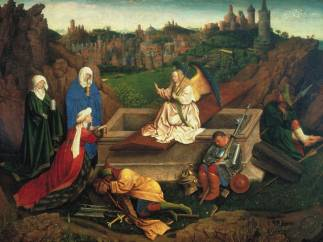 'The Three Marys at the Tomb', c. 1430- 1435