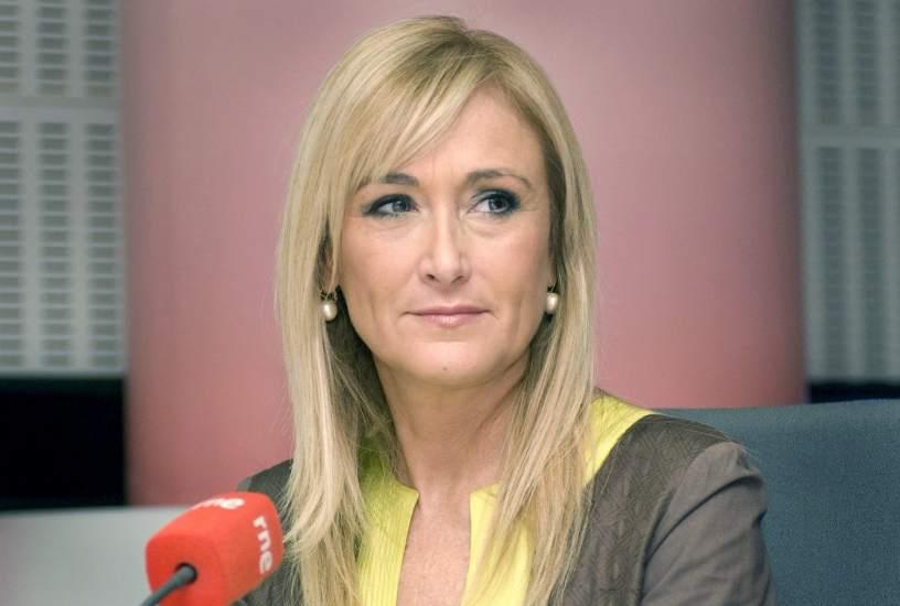 La Delegada Del Gobierno Cristina Cifuentes Recibe El