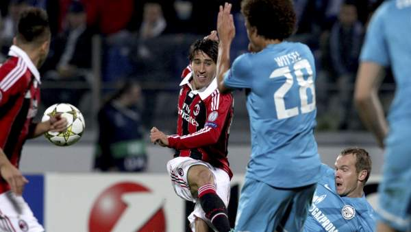 Bojan en el Zenit - Milan