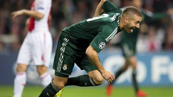 Gol de Benzema al Ajax