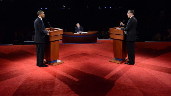 Obama y Romney debaten en Denver