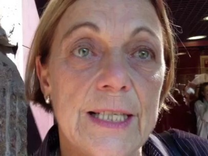 Doris Benegas, imputada el 25-S