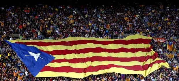 Bancera Camp Nou