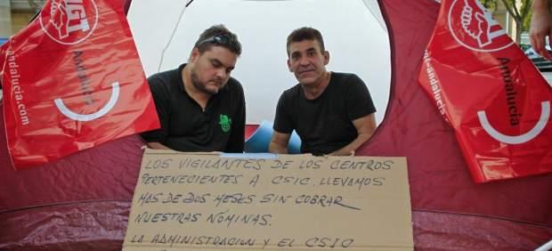 Acampada en Sevilla para recordar a 'Pepito'