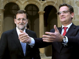 Rajoy apoya a Basagoiti