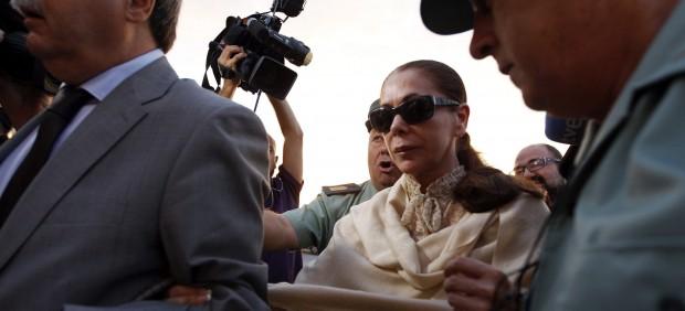 Isabel Pantoja vuelve a declarar