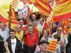Manifestaci�n por la unidad de Espa�a en Barcelona