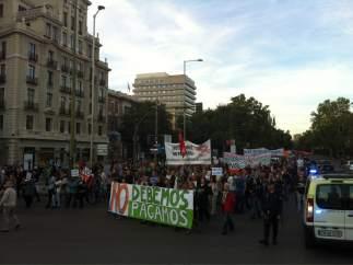 La marcha del 13-O, en Colón