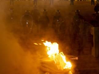 Protestas en Portugal