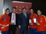 Cazorla, Juanfran y Alba