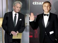 Michael Douglas y Christoph Waltz