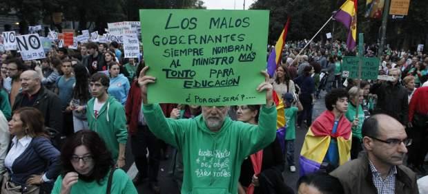 Protestas en Educaci�n
