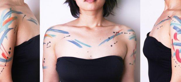 Tatuaje de Amanda Wachob -1
