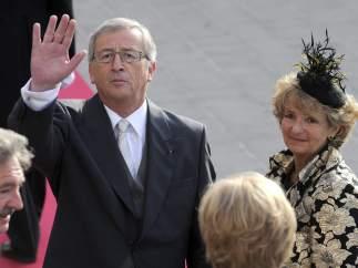Juncker, de boda