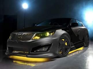 Kia Optima inspirado en el coche de Batman