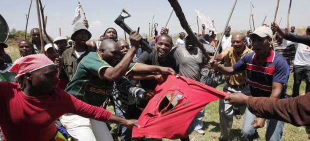 Siguen las protestas en Sudáfrica