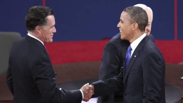 Obama y Romney se enfrentan por la política exterior