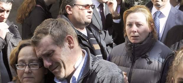 Funeral por Almudena, la niña asesinada en El Salobral.