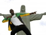 Bolt visita Brasil