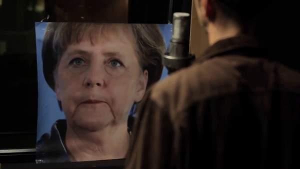 Alejo Stivel versiona 'Ojalá' para Merkel