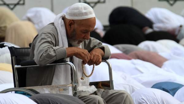 Rezos en La Meca