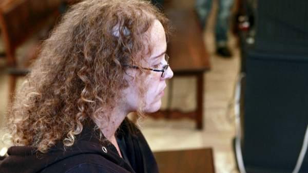 La presunta parricida Mónica Juanatey.